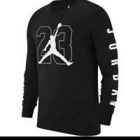 Tshirt Baju Kaos Lengan panjang Air Jordan - High Quality
