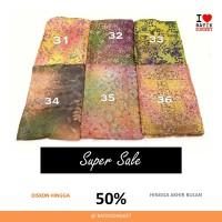 SALE VISCOS ALUR PELANGI 2 bahan kain batik cap viscose viskos