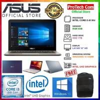 ASUS VIVOBOOK MAX X441UA - i3 7020U 4GB 1TB 14 WIN10 HOME 64BIT RESMI