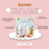 Little Baby Infant Tooth Brush ( Sikat Lidah )