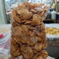 Emping crispy pedas manis ( renyah )