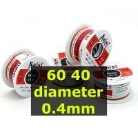 Kawat Timah Solder 60 40 0.4mm Sn60 Pb40
