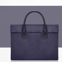 Tas Laptop 14 inch Sleeve Case Softcase jinjing waterproof - Dark Blue