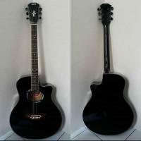 "Gitar Akustik YAMAHA APX 500 ii HITAM"" Mantap Jiwa NON EQ"