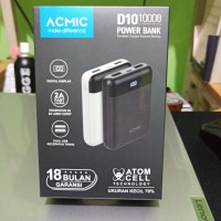 Power Bank ACMIC 10000mah Fast Charge