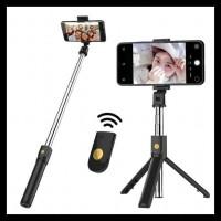Tripod Selfie Stick 3 In 1 K07 Tongis HP Remote Bluetooth