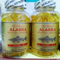 Minyak Ikan K-Max Alaska Deep Sea Fish Oil OMEGA 3 (Tutup Putih)