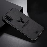 CASE VIVO X50 Pro 2020 SOFTCASE DEER ORIGINAL BACK COVER - Promo - Hitam