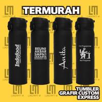 Tumbler Custom, Termos, Thermos, Thumbler Grafir
