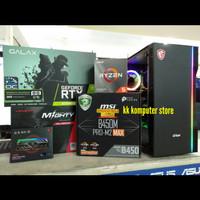 PC Gaming RTX 2070 Super I AMD Ryzen 5 3600 I 16GB Ram Rakitan Pesanan
