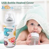 Sarung Penghangat Botol Susu Bayi Portable Dengan Usb Untuk Outdoor