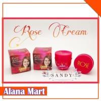 Krim Pelembab Siang + Malam Cream Rose Natural 100% Original