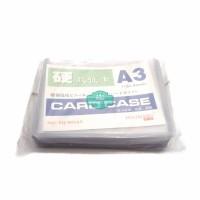 Plastik ID Card Case Haoxiang A3 Name Card Name Tag Landscape 20 Buah