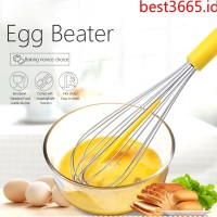 Ready Silicone scraper egg whisk manual household egg mixer cream hai