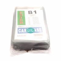 Plastik ID Card Case Enter B1 Name Card Name Tag Portrait 20 Buah