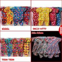 BISA COD Baju Setelan Anak Bayi Motif PEREMPUAN 0-1 tahun - Batik NEW