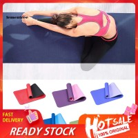 Matras Anti Slip Bahan Tpe Tebal 6mm Untuk Gym Fitness Pilates Yoga