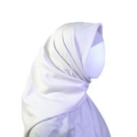 Jilbab Voal Miracle Lasercut Umama Putih