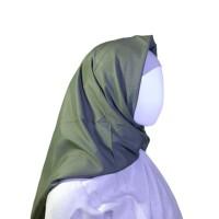 Jilbab Voal Miracle Lasercut Umama Olive