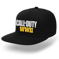 topi snapback unisex pria premium game call of duty WWII