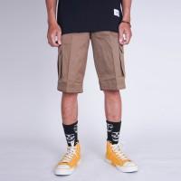 Celana Indie Bandung - Short Cargo Pants Mocca