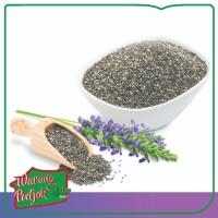 Organic Black Chia Seed Mexico 500 Gr Original
