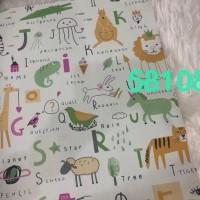 Wallpaper Dinding Anak Motif Belajar Nama Binatang Selaluada1010