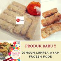 Dimsum Lumpia Ayam Frozen Food Dim Sum Halal Tanpa MSG by Yummy Dimsum