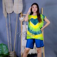 Daster Mega | Dress Vega Payung | Baju Midi Tidur | flower 1376