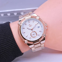 jam tangan GC GUESS COLLECTION WANITA DETIK BAWAH TANGGAL RANTAI