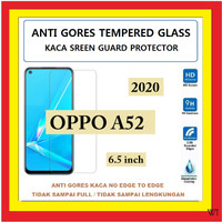 OPPO A52 2020 6.5 INCH ANTI GORES TEMPERED GLASS KACA BENING 910622