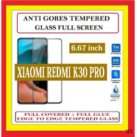 XIAOMI REDMI K30 PRO 6.67 ANTI TEMPERED GLASS KACA FULL BLACK 910618
