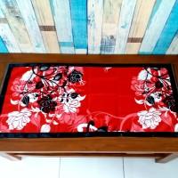 Taplak meja tamu 40x90 cm - manohara merah