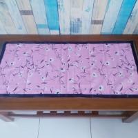 Taplak meja tamu 40x90 cm - monalisa pink