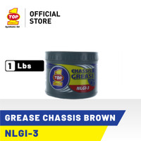 TOP 1 GREASE CHASSIS (BROWN) | 1 Lbs - Gemuk