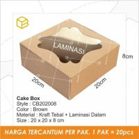 Dus Kue Cake Box Kotak Packaging Kemasan - CB202008