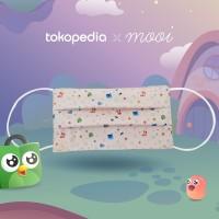 Masker Anak Toped Universe - Cream
