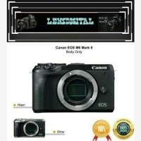 Canon EOS M6 Mark ll BO Body Only-Original &Resmi