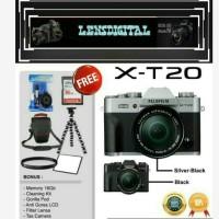 FUjifilm X-T20 Kit XC 15-45MM 16GB & ACc-Fujifilm XT20 MIRRORLESS