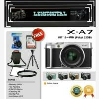 Fujifilm XA-7 Kit Xc 15-45MM Paket 16GB&Acc-Camera XA7