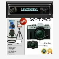 FUJIFILM X-T20 KIT XC 15-45MM Paket 32GB ACc-FUjifilm XT20 MIRRorless