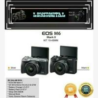 Canon Eos M6 Mark ll Kit 15-45MM IS STM Resmi-Canon Eos M6 Mark ll