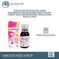 Imboost Kids Syrup 60 ML - Suplemen Penambah Daya Tahan Tubuh Anak