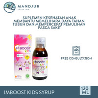 Imboost Kids Syrup 120 ML - Suplemen Penambah Daya Tahan Tubuh Anak