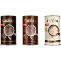 Caotina Swiss Chocolate Drink White Classic Dark Choc Hot Cocoa Cacao