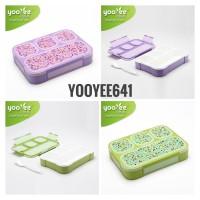 Yooyee Kotak Makan #641 4Sekat anti nyampur anti tumpah