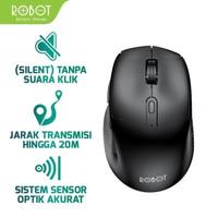 Robot Mouse M320 6D Wireless Mouse Silent key Original Resmi