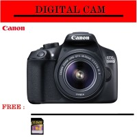 Canon Eos Rebel T6 KIT 18-55mm IS II - Canon Eos 1300D