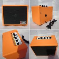 Ampli Gitar Mini Raf 4 Inch murah clean & distorsi
