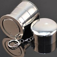 KLS Gantungan Kunci Gelas Lipat Camping Folded Cup 75ML - 7011 -